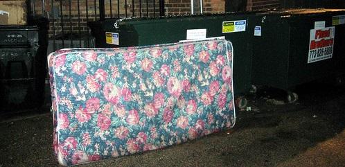 Bed Mattress Box Spring Pickup Removal & Disposal Service